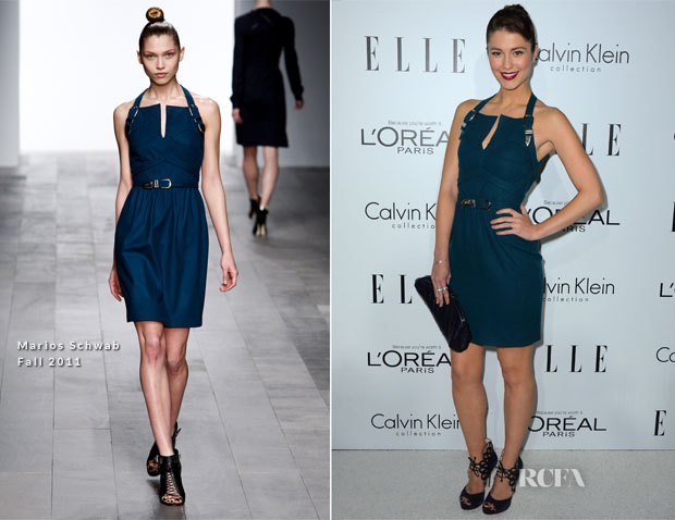 Mary Elizabeth Winstead In Marios Schwab - Elle's 19th Annual Women In Hollywood Celebration