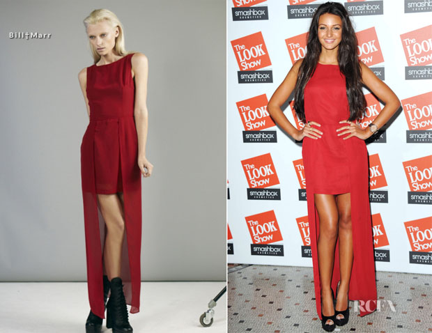 Michelle Keegan Took To The Red