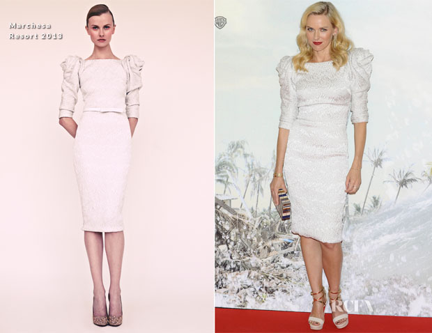 Naomi Watts In Marchesa - 'The Impossible' Madrid PremiereNaomi Watts In Marchesa - 'The Impossible' Madrid Premiere