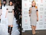 Naomi Watts In Victoria Beckham - 2012 Take Home a Nude Benefit Art Auction