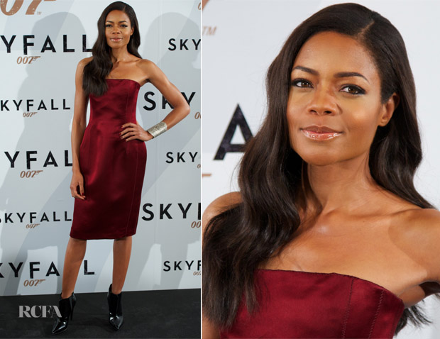 Naomie Harris In Lanvin - 'Skyfall' Madrid Photocall