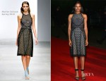 Naomie Harris In Marios Schwab - 'Skyfall' Royal Premiere After-Party