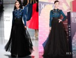 Ni Ni In Christian Dior - Vogue China's 120th Anniversary Celebration