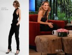 Nicole Richie In Azzaro - The Ellen DeGeneres Show