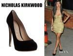 Nicole Scherzinger's Nicholas Kirkwood Platform Pumps