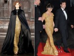 Penelope Cruz In L'Wren Scott - 'Skyfall' Royal Premiere After-Party