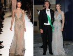Princess Clotilde of Savoy In Elie Saab Couture - Royal Wedding