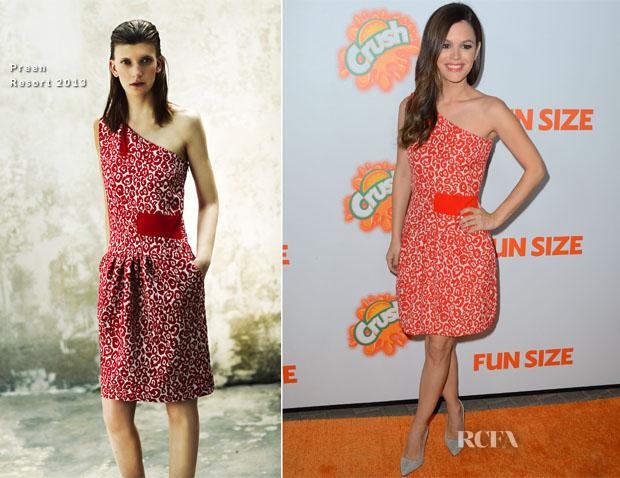 Rachel Bilson In Preen - 'Fun Size' LA Premiere