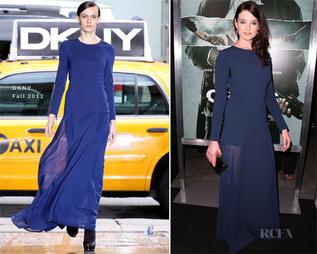 Rachel Nichols In DKNY - 'Alex Cross' LA Premiere