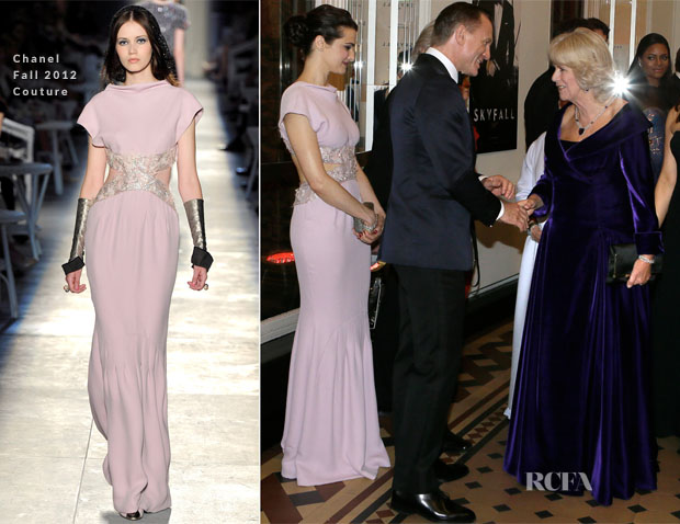 Rachel Weisz In Chanel Couture - 'Skyfall' Royal Premiere