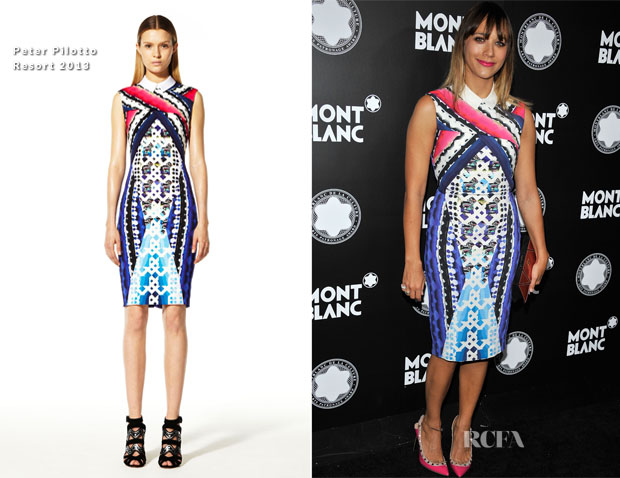 Rashida Jones In Peter Pilotto - 2012 Montblanc de la Culture Arts Patronage Award