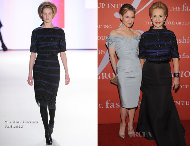 Renee Zellweger In Carolina Herrera - 29th Annual Fashion Group International Night Of Stars