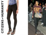 Rihanna's Citizens of Humanity Avedon Slick Skinny Jeans