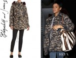 Rihanna's Elizabeth and James Camo Rollins Parka