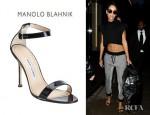 Rihanna's Manolo Blahnik Chaos Sandals