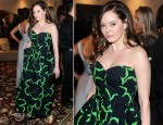 Rose McGowan In Vintage Guy Laroche - LAND 3rd Annual Benefit Gala