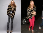 Rosie Huntington-Whiteley In Zadig et Voltaire & J Brand - Chateau Marmont