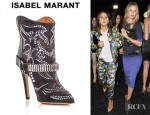 Rosie Huntington-Whiteley's Isabel Marant Milwaukee Studded Boots