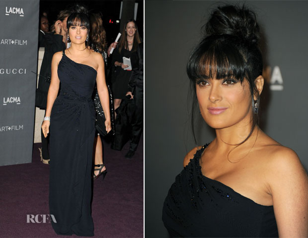 Salma Hayek In Gucci - LACMA 2012 Art + Film Gala