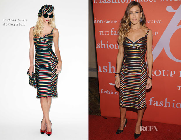 Sarah Jessica Parker In L'Wren Scott - 29th Annual Fashion Group International Night Of Stars