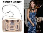 Sarah Jessica Parker's Pierre Hardy Mini Snakeskin Clutch