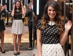 Shenae Grimes In Topshop - Topshop and Topman Vancouver Opening