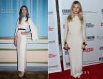 Sienna Miller In Alessandra Rich - 'The Girl' Hamptons Film Festival Screening