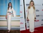 Sienna Miller In Alessandra Rich - 'The Girl' Hamptons Film Festival Screening