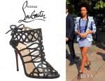 Solange Knowles' Christian Louboutin Zigouwi Heels