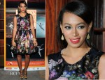 Solange Knowles In Dolce & Gabbana - American Ballet Theatre Opening Night Fall New York City Center Gala