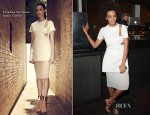 Solange Knowles In Esteban Cortazar -  Absolut Tune Launch Party