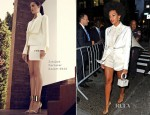 Solange Knowles In Esteban Cortazar - Barack Obama Fundraiser