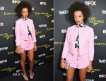 Solange Knowles In Twenty8Twelve - 'Everything or Nothing: The Untold Story of 007' New York Screening