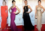 Supermodels @ The Angel Ball 2012