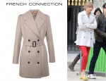 Taylor Swift's French Connection Classic Wool Wonderland Trench Coat
