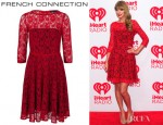 Taylor Swift's French Connection Fast Iris Lace Dress