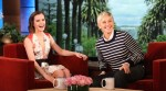Emma Watson In Prabal Gurung - The Ellen DeGeneres Show
