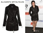 Vanessa Hudgens' All Saints Blake Biker Jacket