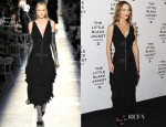 Vanessa Paradis In Chanel Couture - Karl Lagerfeld 'The Little Black Jacket' Book Presentation