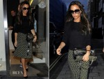 Victoria Beckham In Prada - Out In London