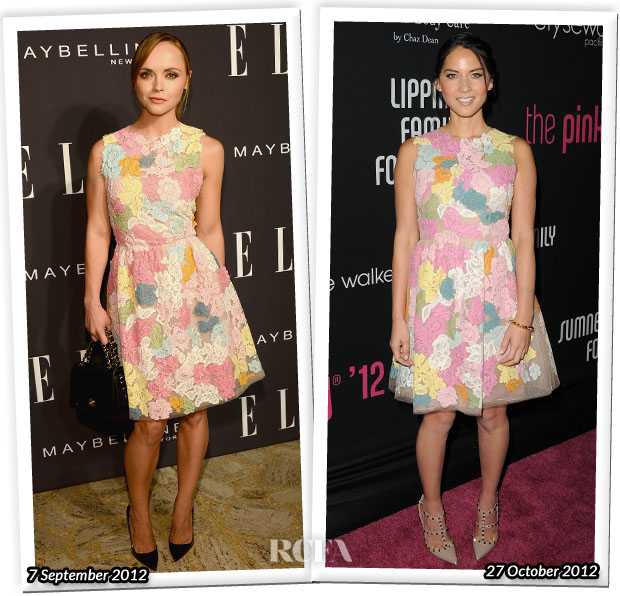 Who Wore Valentino Better Christina Ricci or Olivia Munn