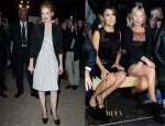 Jessica Chastain, Salma Hayek and Kate Moss In YSL - Saint Laurent Spring 2013