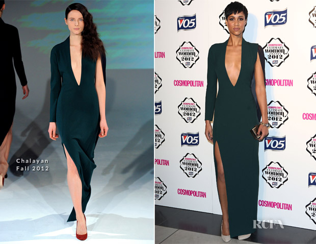 Zawe Ashton In Chalayan - Cosmopolitan Ultimate Woman Of The Year Awards