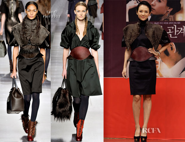 Zhang Ziyi In Fendi - 'Dangerous Liasons' Busan Film Festival Press Conference