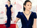 Zhang Ziyi In Marc Bouwer Couture - New York Chinese Film Festival