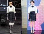 Zhou Xun In Chanel Couture - Vogue China's 120th Anniversary Celebration