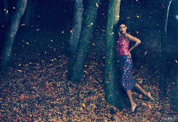 Rihanna For Vogue US November 2012