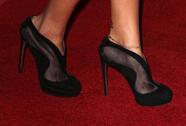 Rihanna's Alaia ankle boots