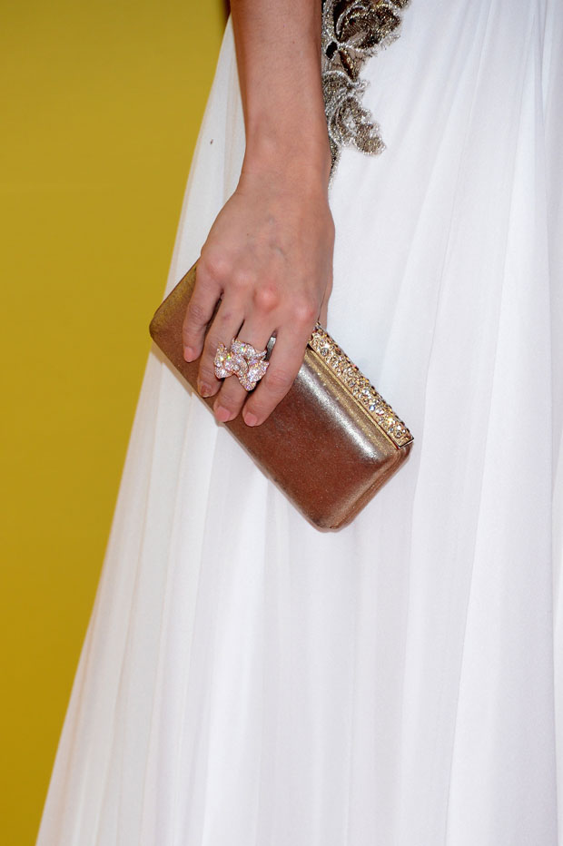 Carrie Underwood's Swarovski  clutch