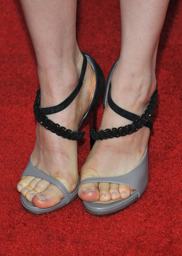 Bella Heathcote's sandals